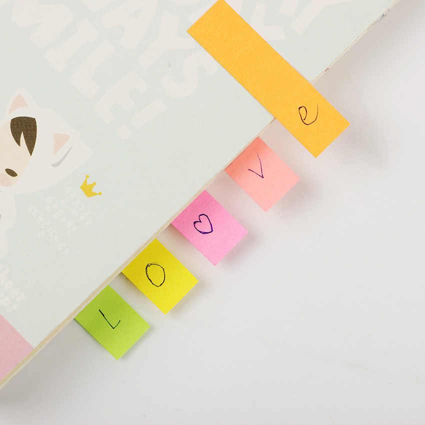 1 MÁY TÍNH Dễ Thương Giấy Kraft Bao Kẹo Màu Ghi Nhớ Miếng Lót N Lần Chú Đánh Dấu Trang Notepad Trường Văn Phòng Cung Cấp Escolar pepalaria