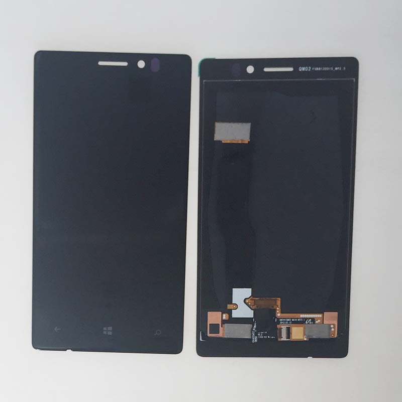Подробнее о New Black Touch Screen Digitizer Glass LCD Display Assembly For Nokia Lumia 925 Replacement new full black touch digitizer glass lcd display screen assembly with frame for nokia lumia 630 replacement