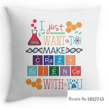 """Crazy Science – Orphan Black (two sides) Pillow Cases for 12 """"14""""16""""18"""" 20""""24"""" inch free shipping"""