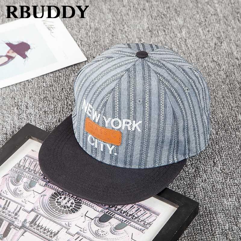 ... RBUDDY 3D Straight Visor Baseball Caps New York Hip Pop Streetwear  Snapback Trucker Dad Hat for ... b14d0f087fc1