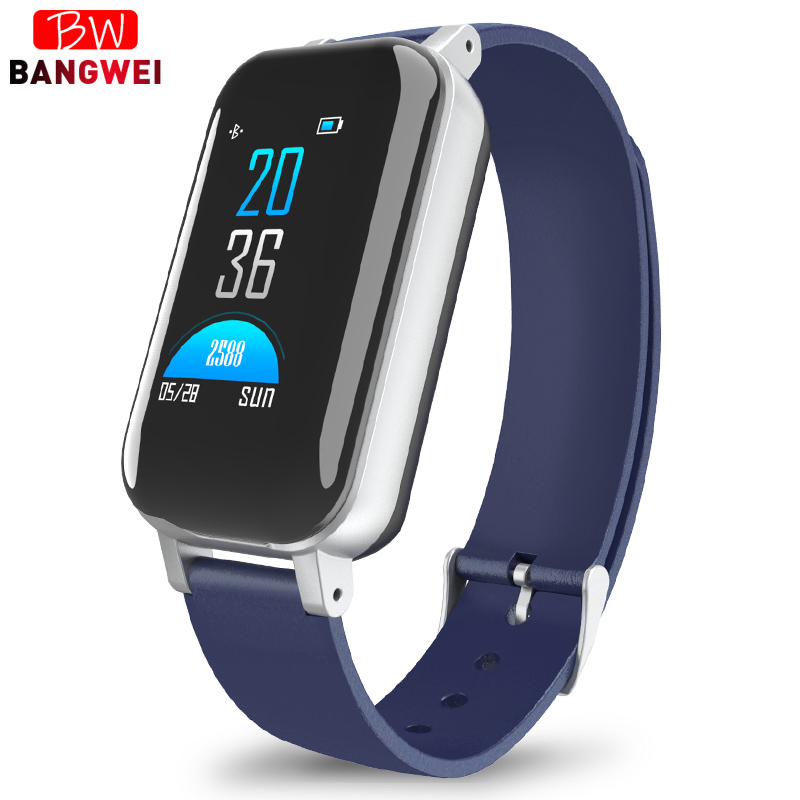 BANGWEI Smart Watch Binaural Bluetooth Headphone Fitness Watches Heart Rate Monitor Smart Wristband Sport Watch For IOS AndroidBANGWEI Smart Watch Binaural Bluetooth Headphone Fitness Watches Heart Rate Monitor Smart Wristband Sport Watch For IOS Android