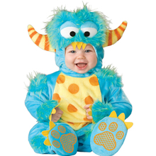 Baby Boys Little Monster Fancy Dress Costume Romper Outfits Suit