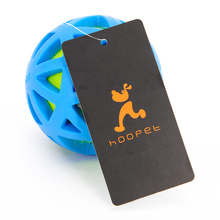 HOOPET Dogs Toys Tennis Ball Bite Resistant Teeth Cleaning Chew Pet Rubber TPR