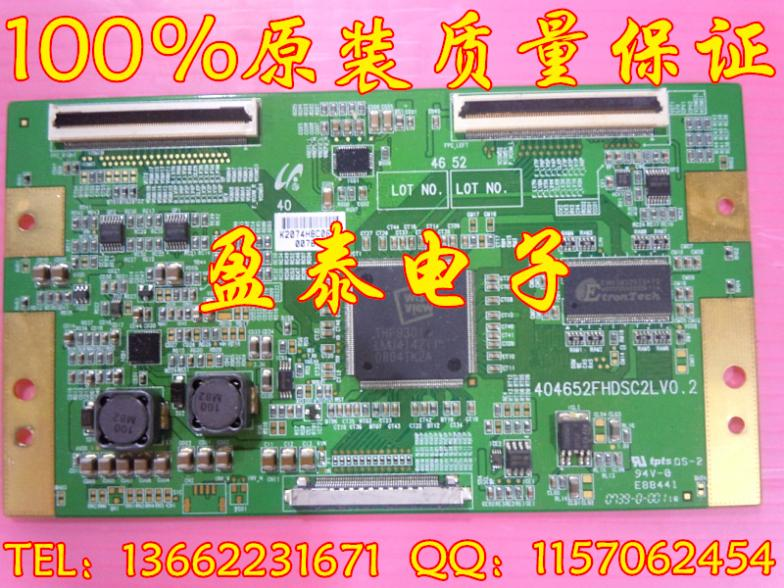 L40E77F logic board 404652FHDSC2LV0.2 with screen LTA400HT-L03 тарелка обеденная luminarc green ode 25 см