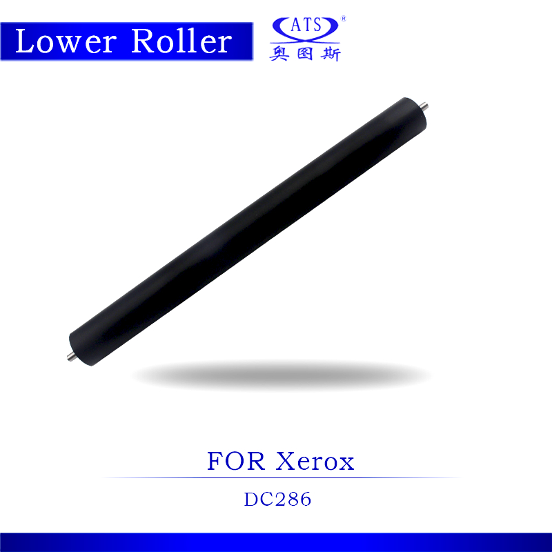 High Quality Photocopy Machine Lower Roller Fuser Roller For Xerox DC 286 Pressure Roller Copier Parts DC286 dzlm000112 dp2310 dp2330 dp3010 dp3030 dp2000 dp2500 dp3000 dp8025 dp8032 copier lower roller bearing for panasonic