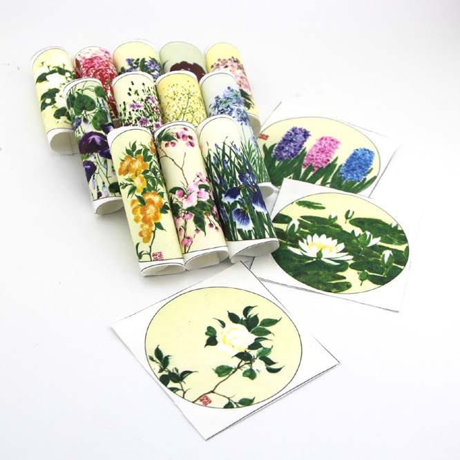 ᐃPercal tela impresa para DIY coser patrones tapicería fieltro ...