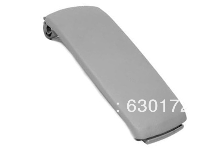 Interior Armrest Cover Lid (Leatherette Grey) For Audi A6 C5