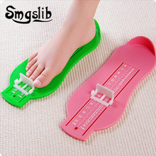 Kid Foot Measure Gauge Shoes Size Measuring Ruler Tool Infant Device Available Abs Baby Car Adjustable Range 0-20cm