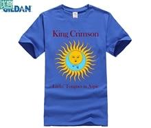 цена на MEN T SHIRT King Crimson Larks' Tongues In Aspic T-Shirt Men and men Tee big Size S-XXXL