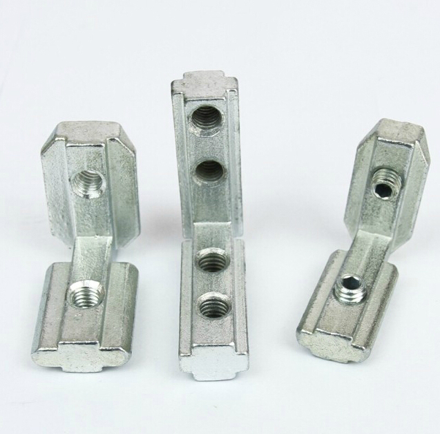 ④T ranura Interior conjunta soporte angular para perfil de aluminio ...