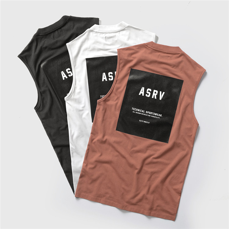 2018 Brand Mens Sleeveless shirts Summer Cotton Male Tank Tops Gyms Clothing Bodybuilding Undershirt Fitness Tank Tops