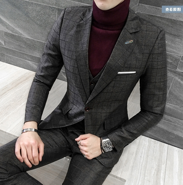 Plaid Suit Sale Promotion-Shop for Promotional Plaid Suit Sale on ...