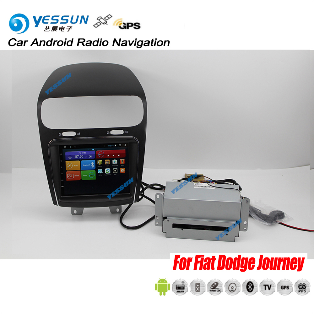 YESSUN For Dodge Journey 2008~2018 Car Android Radio CD DVD GPS Player Navigation Navi Maps Stereo HD Screen TV Multimedia yessun car android navigation system for hyundai i20 click 2008 2014 radio stereo cd dvd player gps navi screen multimedia