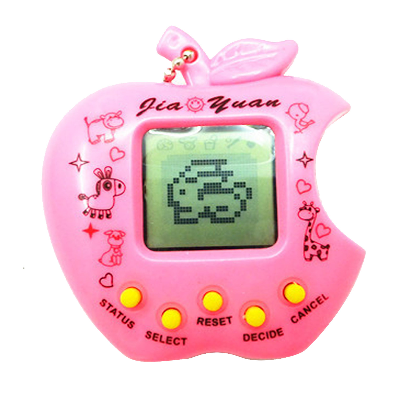 Mini Handy Kids Adults Classic Tetris Nostalgic Electric Virtual Cyber Digital Pet Game Toy Machine Funny Tamagochi Random Color