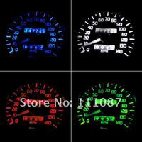 продажа! 60 х T5 5050 1 смд из светодиодов лампы клин основание для приборных панелей калибровочных ламп номерного знака огни - смешанные цвета