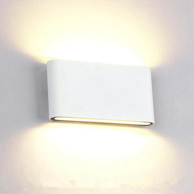 Wall Light Led Waterproof Outdoor Wall Lamp IP65 Aluminum 6W/12W LED Wall Light Indoor Decorated Wall Sconce