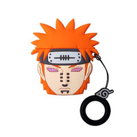 Case For AirPods Cartoon Earphone Cases For Apple Airpods 2 cute Accessories Protect Cover with Finger Ring Strap Naruto Payne