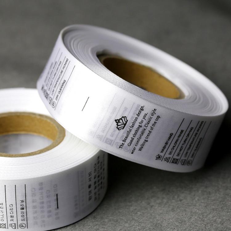 shipping1000PCS/lot пользовательские одежды Satin Care этикетки customizedclothing этикетки футболка сумки тканые этикетки wash тег