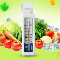 Household Refrigerators Wall Mount Mercury Thermometer Supermarket Freezer Cold Storage With Suction Cup Temperature Meter