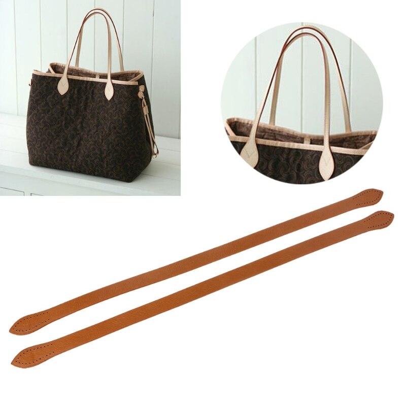 THINKTHENDO 2 PCS Elegant Women Lady Replacement Crossbody Shoulder Handle Purse Handbag Bag Strap