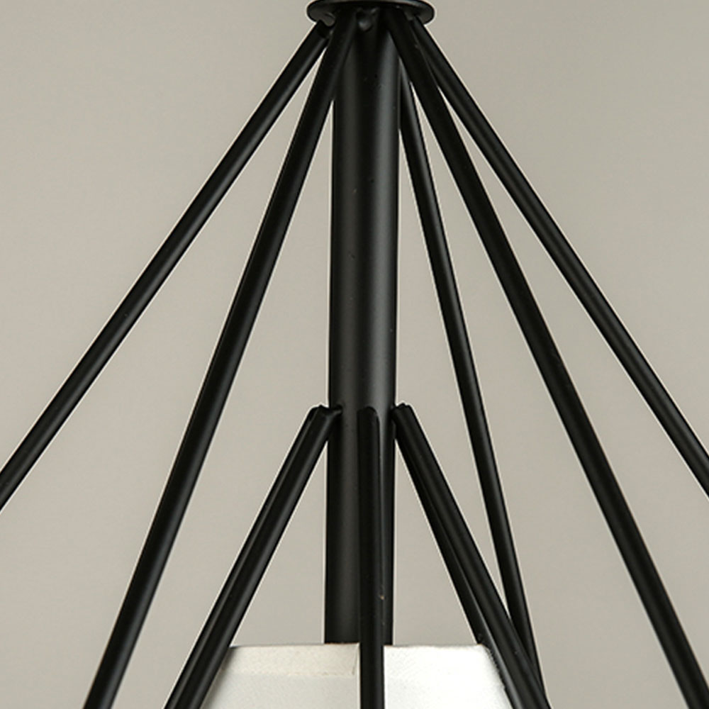 Recessed Ceiling Lights Iron Ceiling Lights Chandelier Minimalist E27 Black Romantic Metal Ceiling Lights Fashion Retro