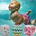 Nadar Fralda Unisex Das Meninas Dos Meninos do bebê Calças de Treinamento de Fraldas Bonito Dos Desenhos Animados Da Criança de Natação Swimwear Final Snap Fralda de Natação
