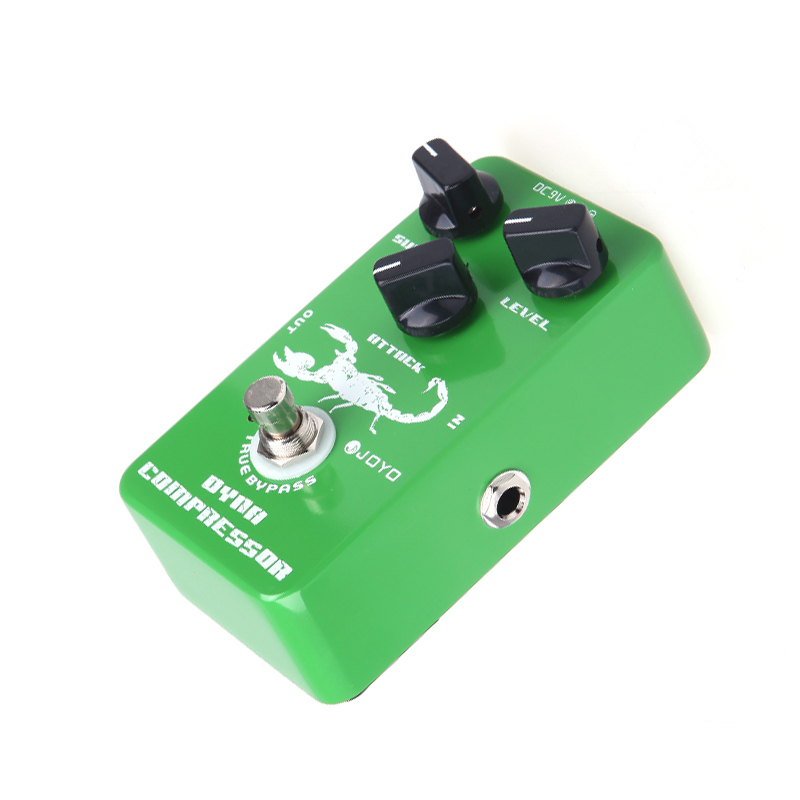 Joyo JF 10 Dynamic Compressor Guitar Effects Pedal reduce the redundant dynamic ensure balanced true bypass