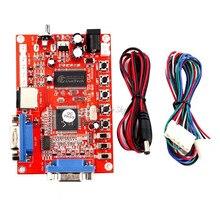 VGA к RGBS/CGA/AV/S-видео конвертер высокой четкости аркадная игра мультикод с проводом