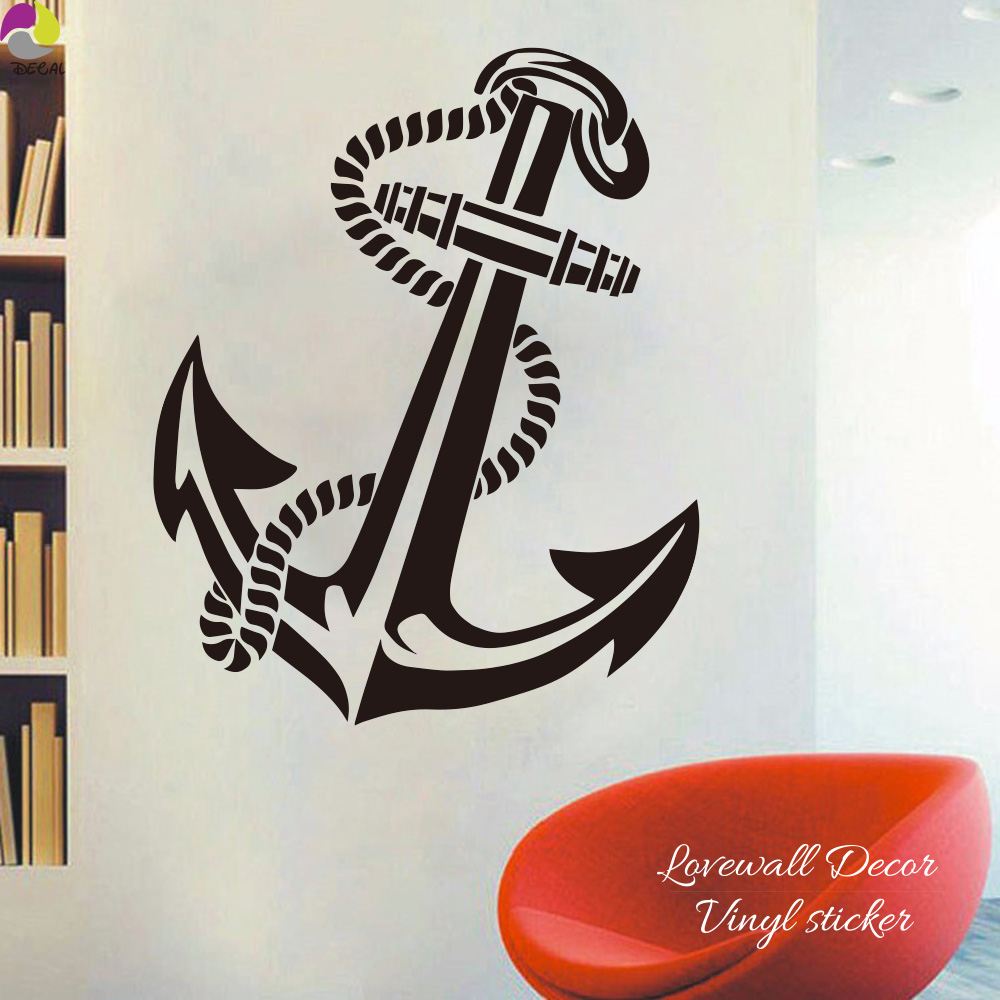Large Anchor Wall Decor compare prices on anchor decals- online shopping/buy low price