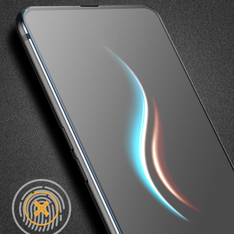 Frosted Mix 2s Tempered Glass Full Coverage 9H Frosted Film For Xiaomi mi mix3 no Fingerprint Film Mi mix 2a 2s Screen Protector in Phone Screen Protectors from Cellphones Telecommunications