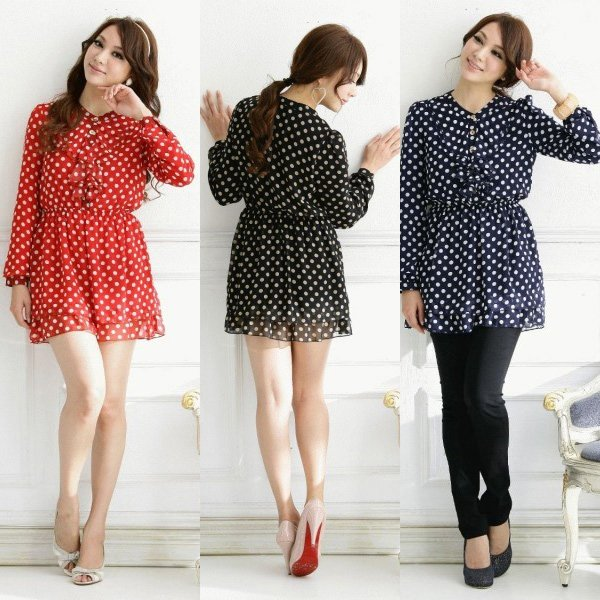 31d73f0564c Free shipping ladies casual dress long sleeve new fashion 2013 summer  chiffon clothes plus size wholesale and retail ioeoi9872