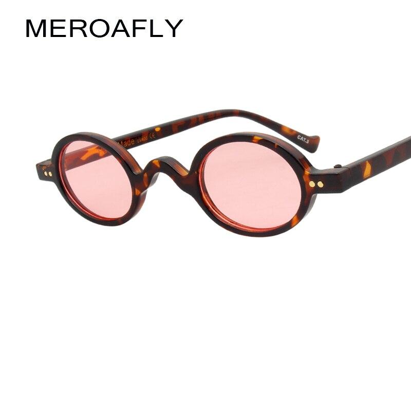 ff75c5f1d8 MEROAFLY pequeñas gafas de sol de las mujeres negro rosa de verano 2019 de  leopardo azul