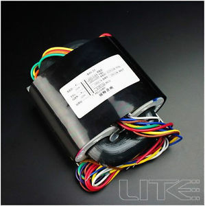 R80-47 100VA R Core Transformer 0-250-280X2(150mA)0-6.3(3.5A)0-5V(2A)