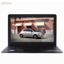 Amoudo-6C 8GB RAM+64GB SSD+1TB HDD 14inch 1920*1080 FHD Windows 7/10 System Quad Core Ultrathin Laptop Notebook Computer on sale