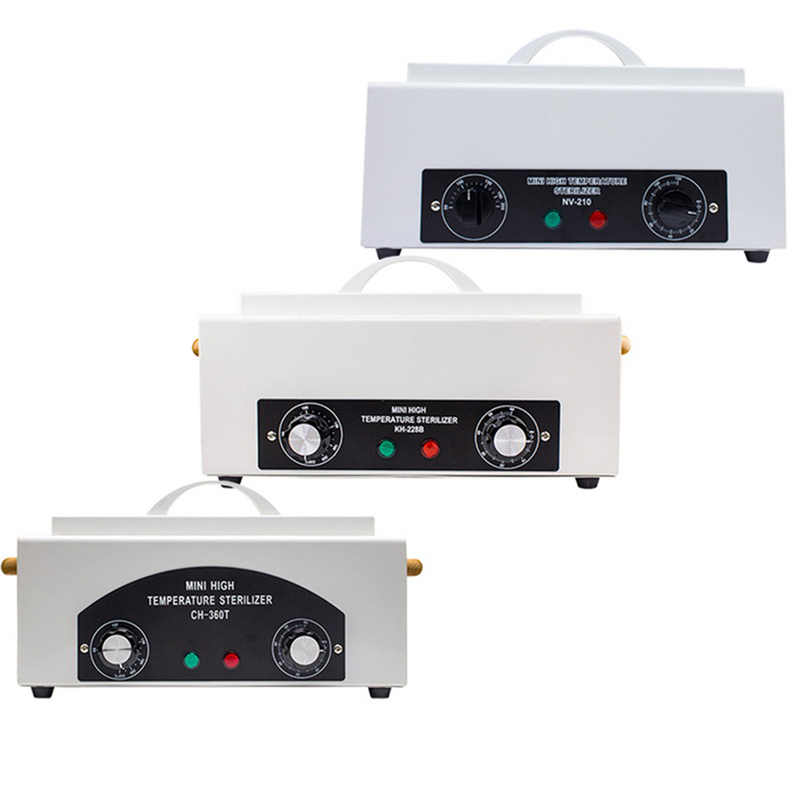 300w Dry Heat High Temperature UV Sterilizer Box Nail Art Tool Hot Air Disinfection Cabinet Accessories