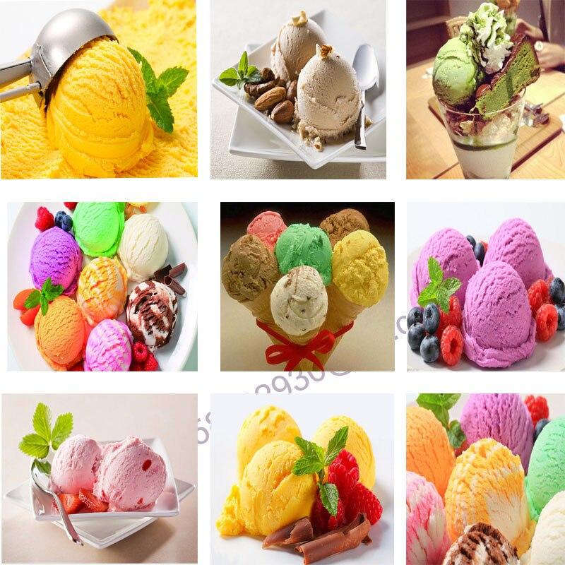 Ice Cream Display Cooling Display Cabinets Ice Cream Refrigerator Popsicle Display Cabinet With 10 Taste