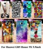 Soft TPU Hard plastic Painted Phone Cover Cases For Huawei GR5 Honor 5X Honor Play 5X Mate 7 Mini 5.5 inch Cases Shell Housing