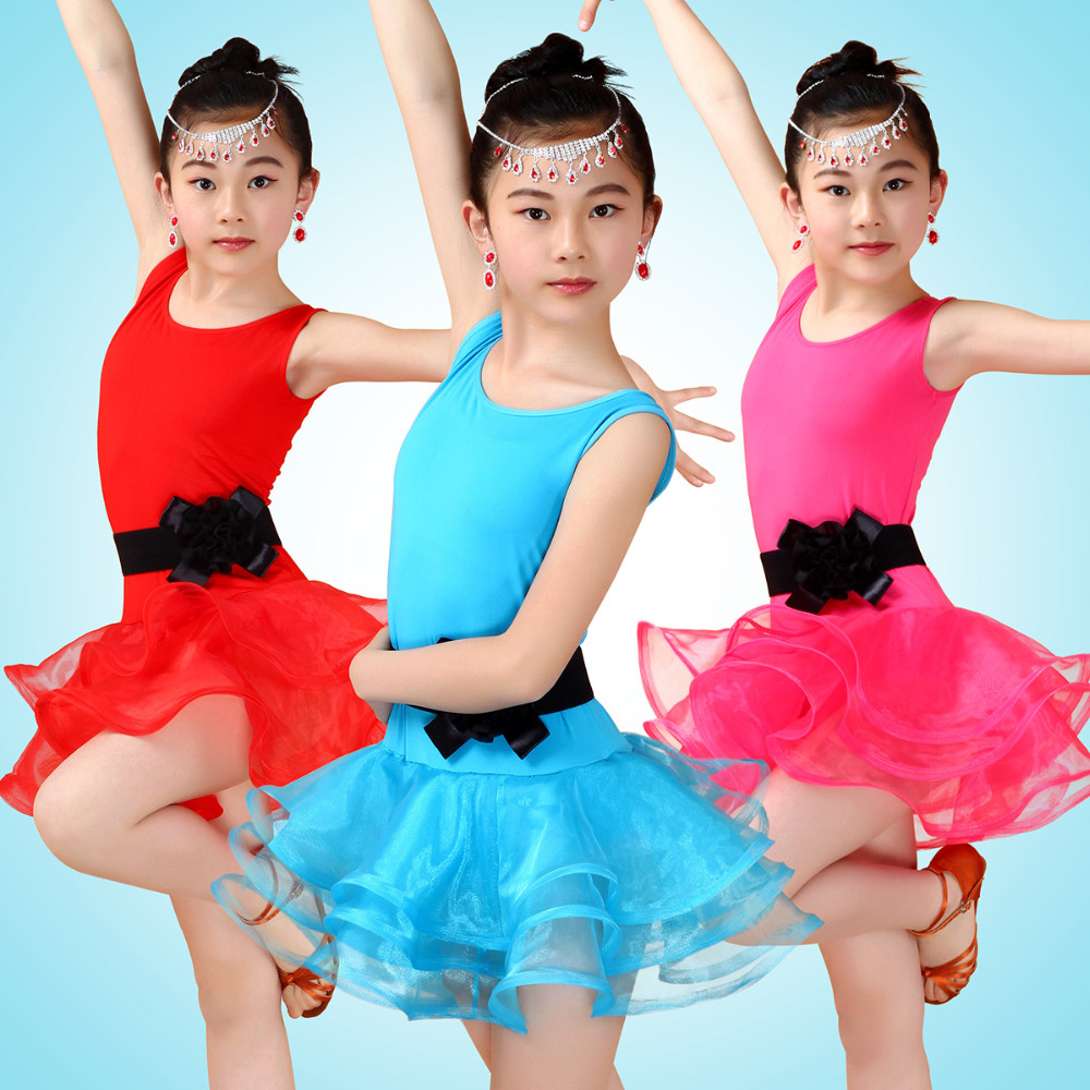 4 15Y Girls Birthday Party Dress Latina Kids Dance Dresses Child ...