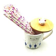 HOT 25PCS/Lot Flamingo Creative Paper Drinking Straws For Christmas Baby Shower Hawaiian Birthday Party Supplies