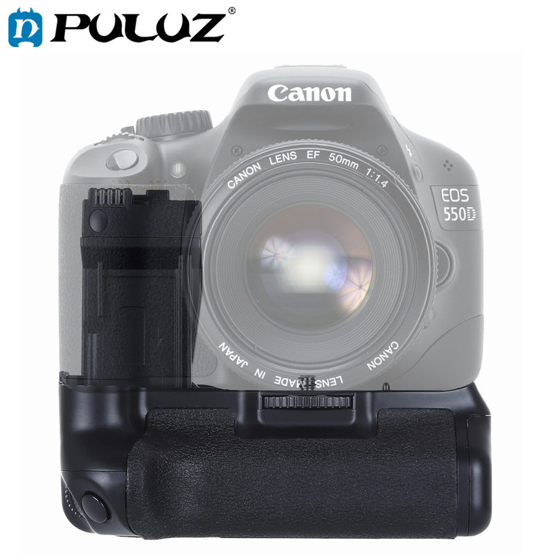 PULUZ Vertical Camera <font><b>Battery</b></font> <font><b>Grip</b></font> for <font><b>Canon</b></font> EOS 550D / 600D / <font><b>650D</b></font> / 700D image