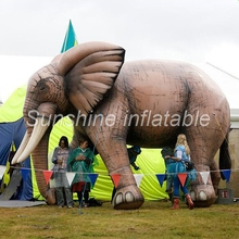 New arrival South Africa style giant inflatable elephant for advertising