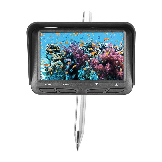 Fishfinder Display Dual Underwater Camera