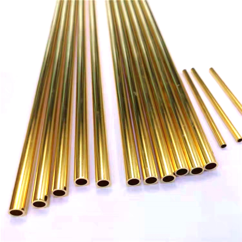 Custom Brass Tubes 2mm-20mm Pipeline Engineering Model Making Tools Brass Pipe Connectors Brass Pipe Round Cutting Tool