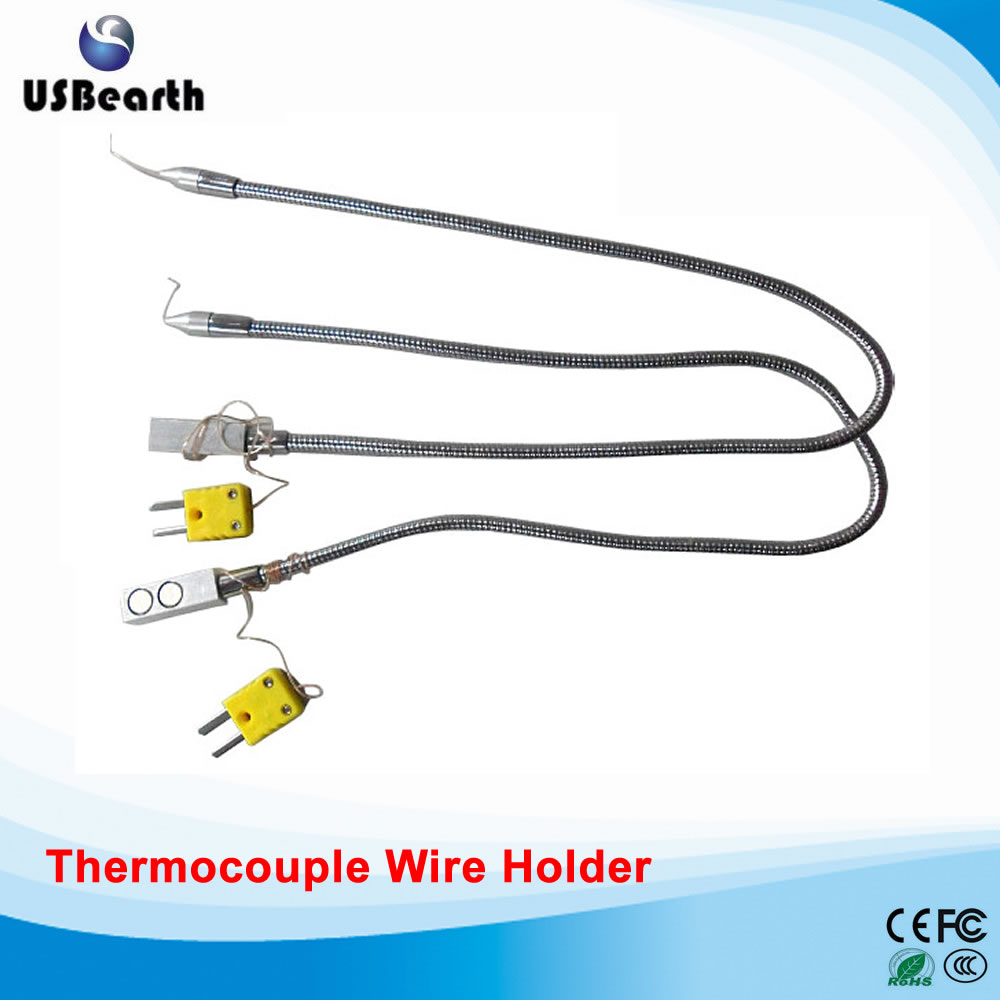 LY-TS1 Omega K -Type Magnet TC Thermocouple Wire Holder Jig Temperature Sensor For BGA rework stations 0 400 celsius 5 meters temperature sensor k type thermocouple 1 1 pipe clamp