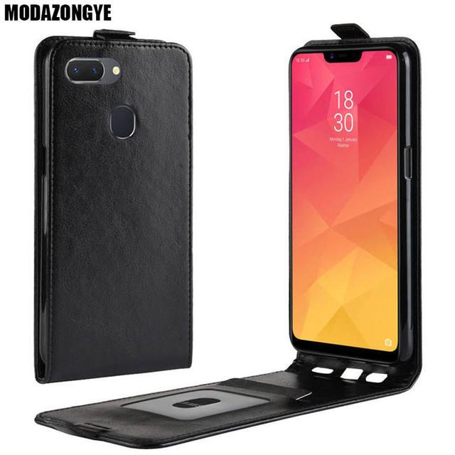 new concept fece4 b12eb US $3.78 10% OFF|OPPO Realme 2 Case OPPO Realme 2 Cover 6.2 inch PU Leather  Back Cover Phone Case OPPO Realme 2 Realme2 Case Flip Protective-in Flip ...