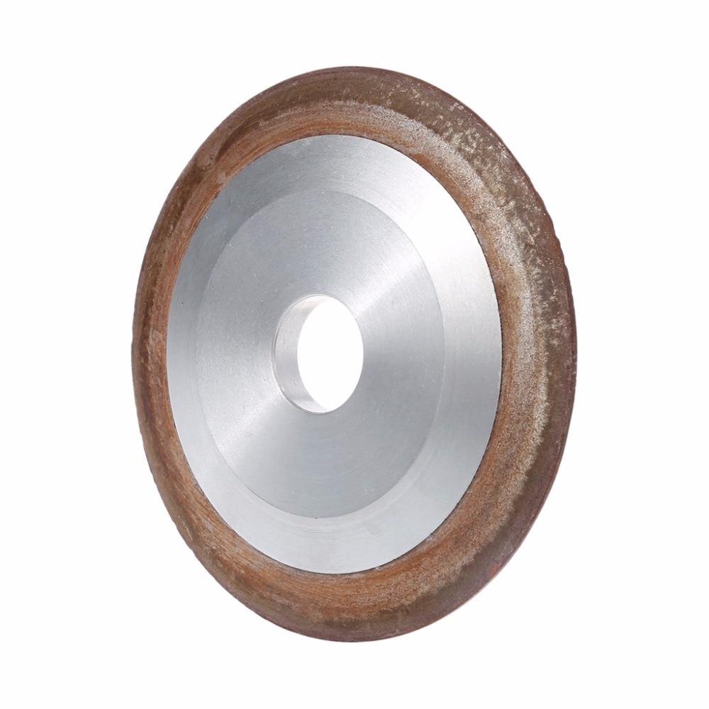 OOTDTY 100mm Diamante Grinding Wheel Copa 180 Grit D4H9 Moedor Cortador de Carboneto de 100*10*20*5mm