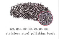 Free Shipping 3mm Stainless Steel Round Polishing Ball Stainless Steel Burnishing Ball Jewelry Tumbling Media 452g