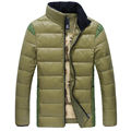 2016 Newest Green Red Orange Navy Black Parka Men Parkas Hombre Invierno Duck Down Jacket