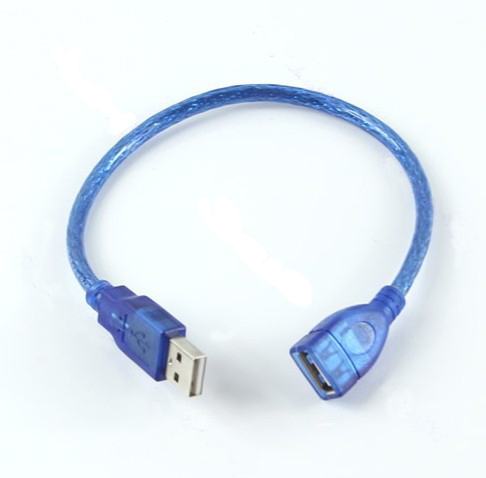 Short USB 2.0 A Female To A Male Extension Cable Cord - ANKUX Tech Co., Ltd