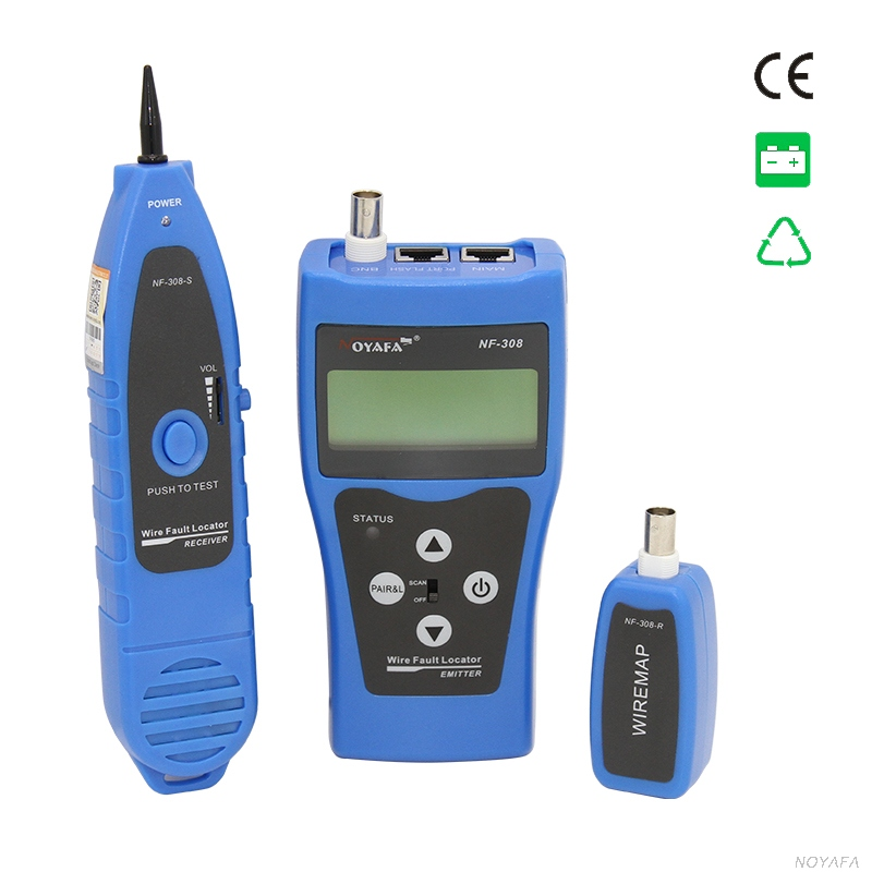 Multipurpose LCD Display  Network Cable Tester Tracker Wire Hunting wire sorting cable length test 5E 6E cable coaxial RJ45 lc171w03 b4k1 lcd display screens